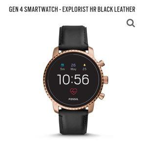 Gen 4 Fossil Explorist Smartwatch